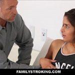 Pai violentando a filha no incesto amador nacional
