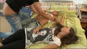 Video de incesto Irmão Abusa Das Irmãs Bêbadas Novinhas