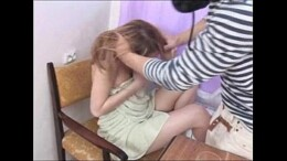 Cunhadão safado estuprando sua cunhada novinha inocente no incesto amador