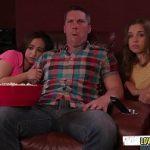 Pai tarado faz sexo com filha e sobrinha ao mesmo tempo no Incesto Porno