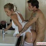 Safado come a mulher do irmão vestida de noiva depois do casamento