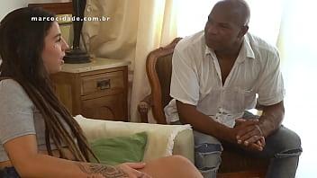 Boquete escondido e foda com negro casado da piroca preta gostosa